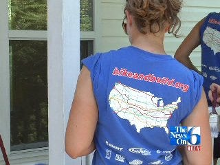 Bike and Build Riders Assist Habitat for Humanity on Cross Country Trip