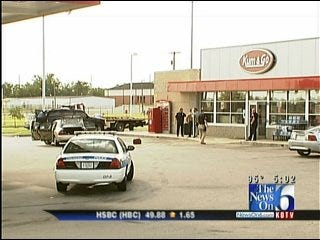 Owasso Police Officer On Leave After Gas Station Shooting