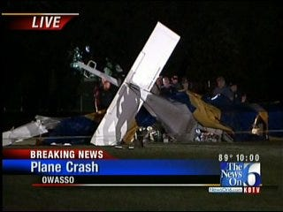3 Killed in Owasso Plane Crash