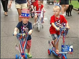 Tulsa Church Holds Independence Day Parade