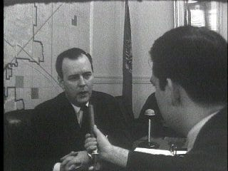 Governor Defends Turnpikes, Bellmon Turnpikes 1965