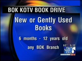 The News On 6, BOK Team Up For 'Book By Book' Campaign