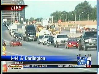 Lane Of I-44 At Yale Closed After Rush Hour Wreck