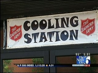 Excessive Heat Warning In Effect For Tulsa; Cooling Stations Opened