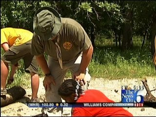 'Sheriff's Camp' Helps Reach At-Risk Kids