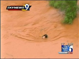 Oklahoma City Teen Rescued From Flood Waters
