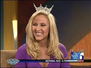 Reigning Miss Oklahoma Taylor Treat On Six In The Morning