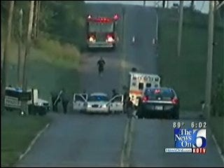 Pedestrian, Catoosa Officer Involved In Fatal Car Crash Identified