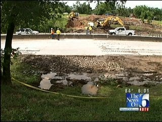 I-44 In Tulsa Reopens To Traffic After Sinkhole Repair