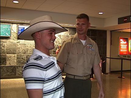 Broken Arrow Marines Return Home From Afghanistan