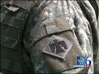Hundreds Of Oklahoma Soldiers Preparing For Deployment To Middle East