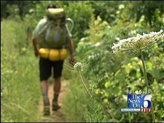 Tulsa Man Raising Money For Charity By Hiking Along Appalachian Trail
