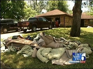 Wednesday's Storms Leaves More Than A Dozen Muskogee Homes Flooded