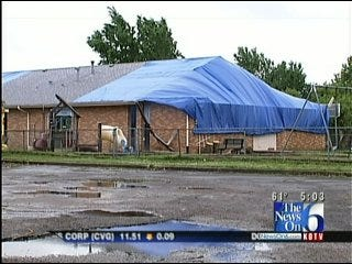 Storm Damage Forces Tulsa Charter School To Temporarily Relocate