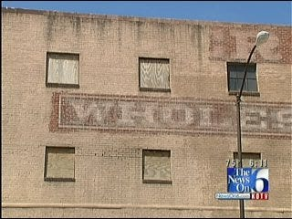 Work Underway To Restore Historic Past Of Downtown Tulsa Building