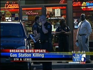 Shooting At Tulsa Gas Station Leaves One Man Dead