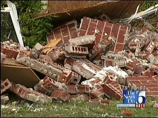 Morris Homeowners Working Hard To Clean Up Storm Damage