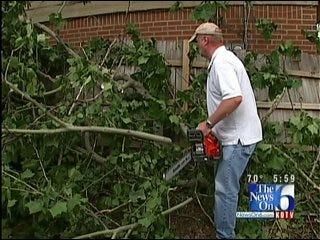Storm Cleanup Continues In Tulsa