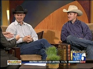 Jet and Cord McCoy From Amazing Race On Six in the Morning