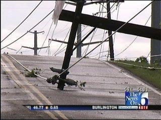 Tornado Tears Through Southwest Tulsa