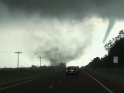Tool Warns Of Potential Tornado Threat