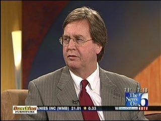Mayor Dewey Bartlett On Budget, Firefighters, Tulsa Shock