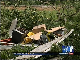 Brewer Bend Couple 'Lucky To Be Alive' After Tornado Destroys Home
