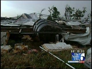 Storm Destroys Seminole Plant Nursery