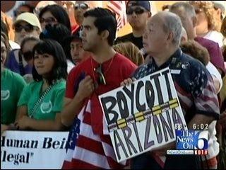 Tulsa Hispanic Chamber Protests Immigration Legislation