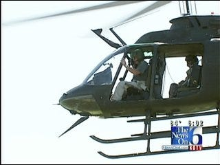 Helicopters Search For Pot Fields In Green Country