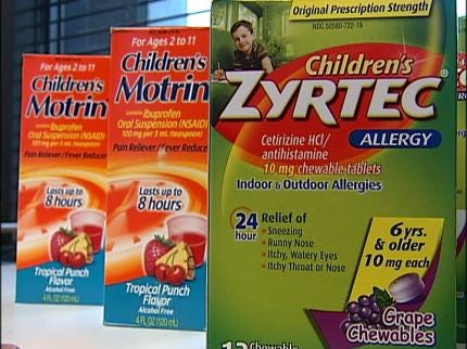 Dozens Of Recalled Children's Medications Pulled From Store Shelves