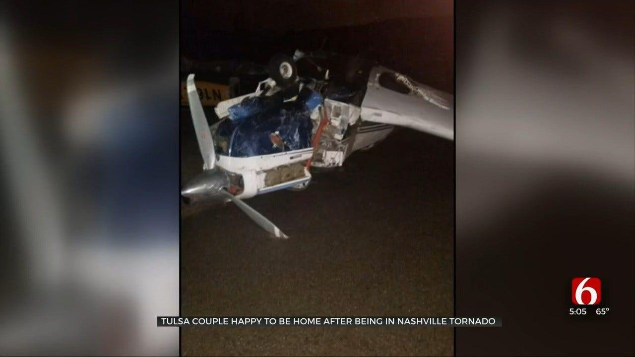 Tulsa Couple Witnesses Deadly Tornado While Visiting Nashville