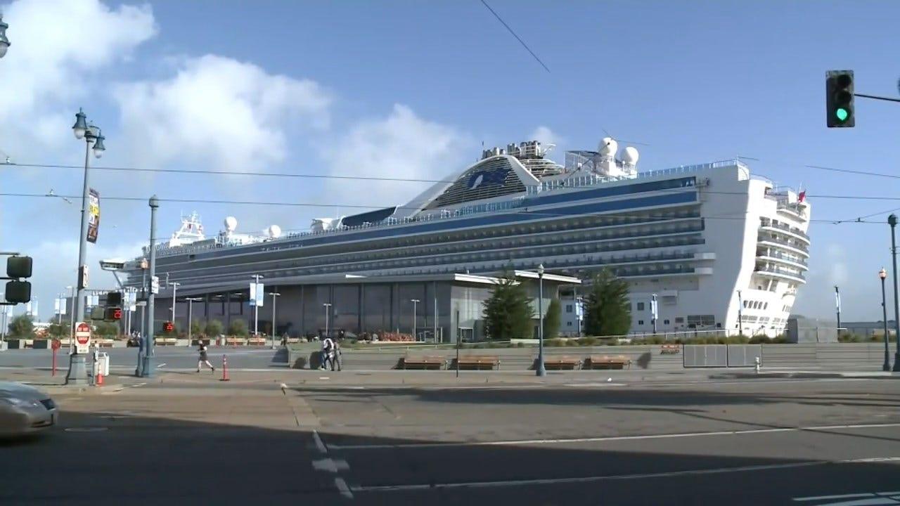 California Cruise Passenger's Coronavirus Death Prompts State Of Emergency, Ship Quarantine