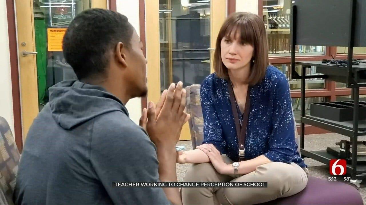 McLain High School Teacher Works To Change School's Image