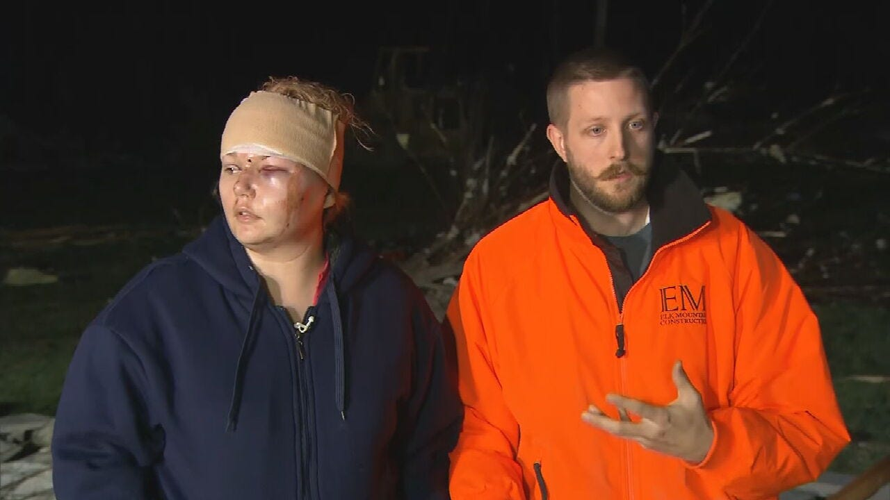 Couple Shares Their Story Of Survival During Tennessee Tornado