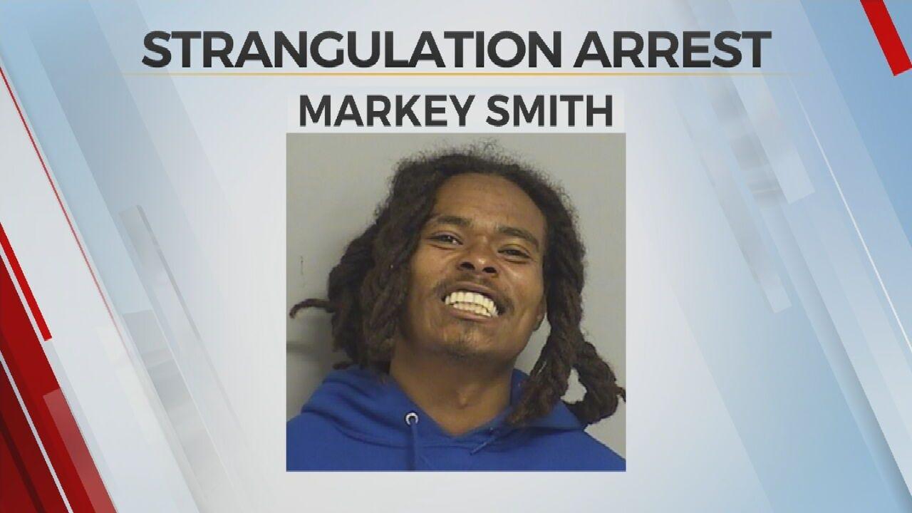 Tulsa Police: Man Accused Of Strangulation Arrested, Had Meth