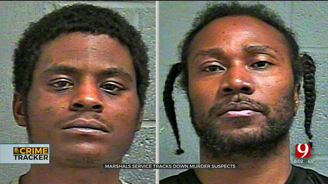 U.S. Marshals Track Down Fugitives Wanted For SE OKC Man's Death