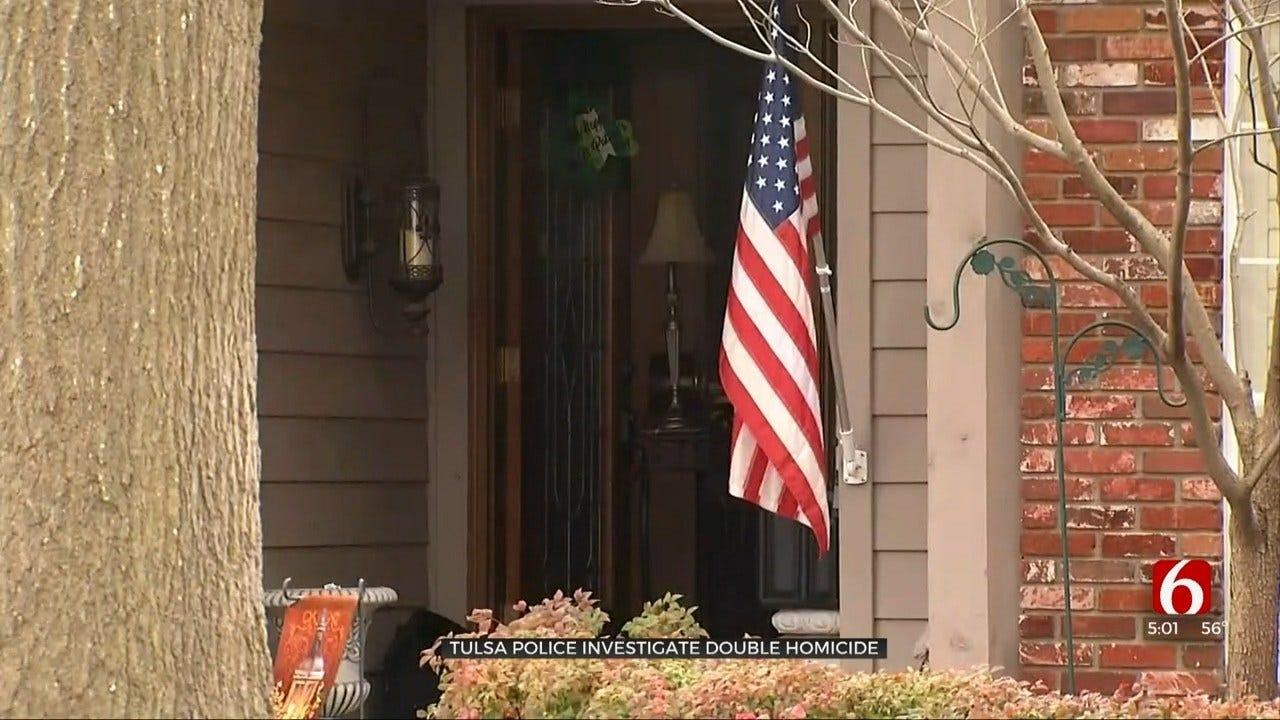 Police Investigate Double Homicide In Tulsa