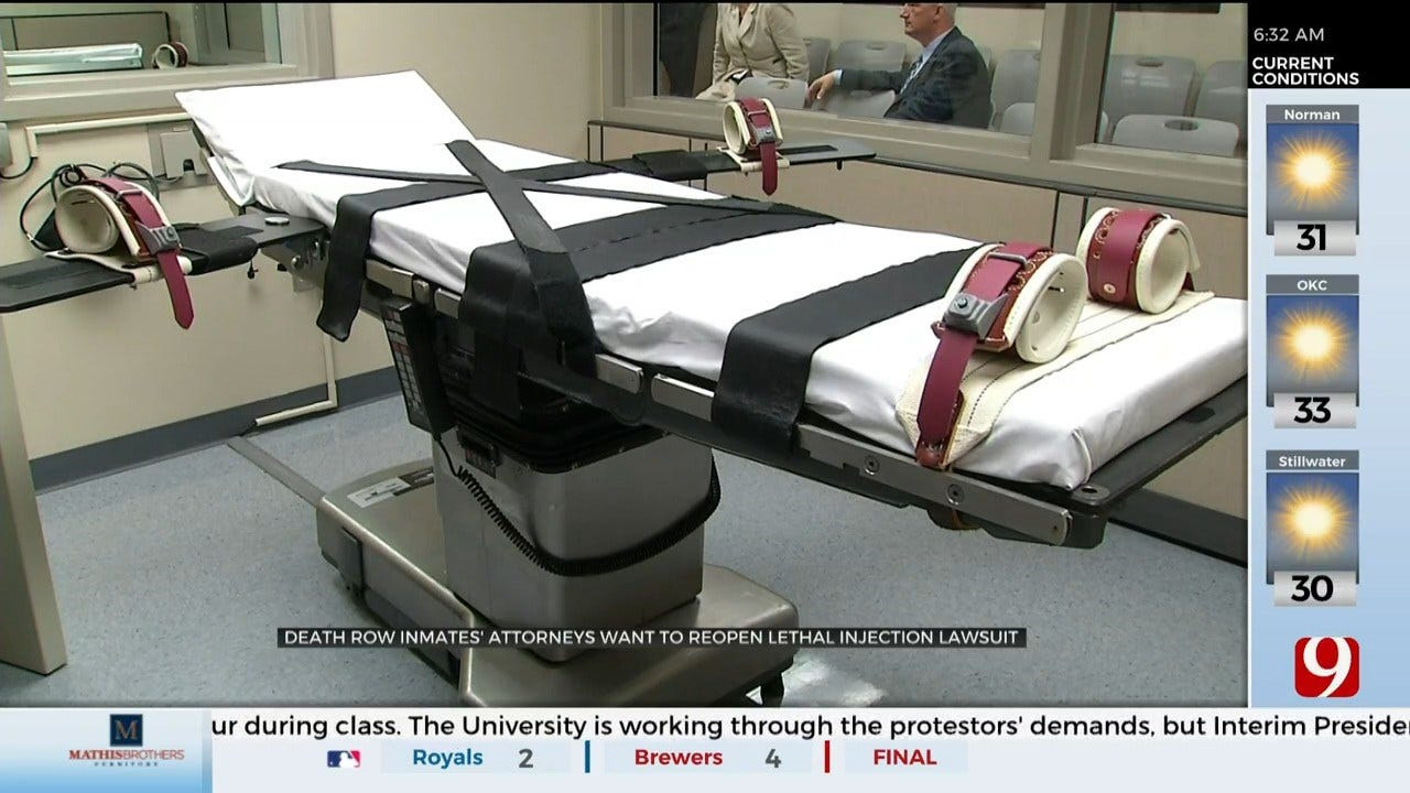 Death Row Attorneys Move To Reopen Civil Lawsuit Over Death Penalty