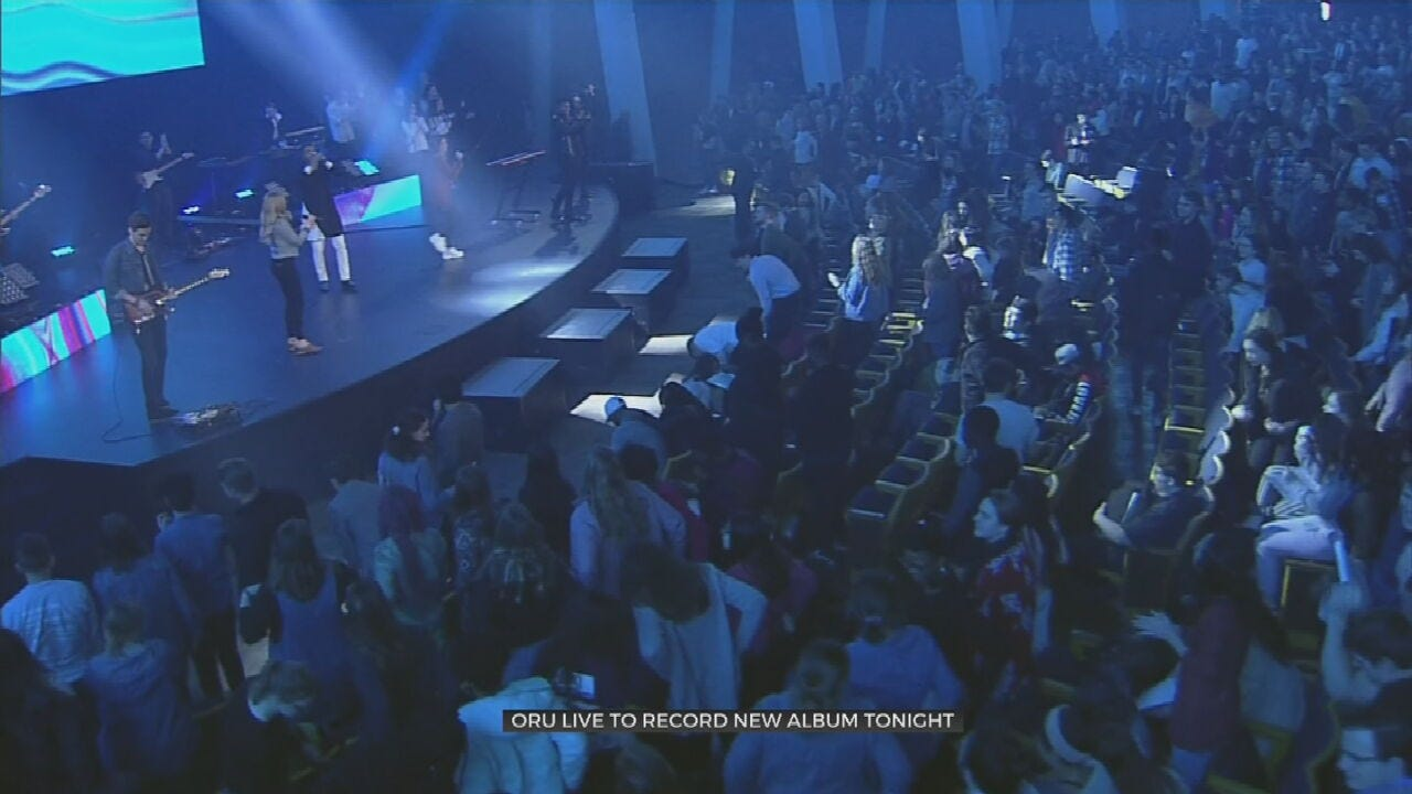 ORU's Worship Team To Record New Album With Live Studio Audience