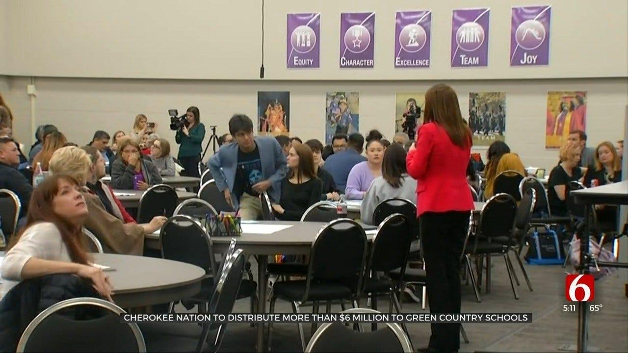 Cherokee Nation Donates More Than $6 Million For Public School Appreciation Day
