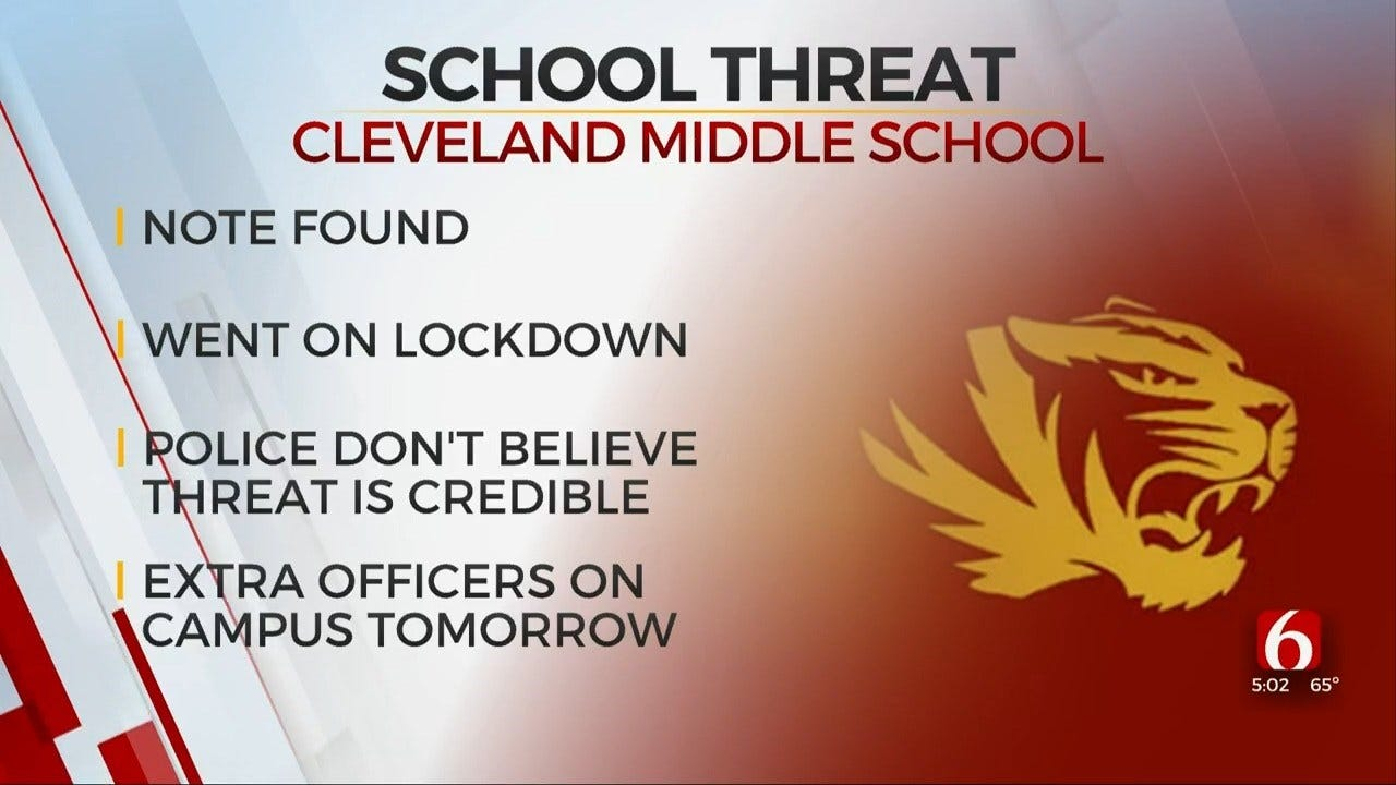 Extra Security To Be Provided For Cleveland Schools After Threat