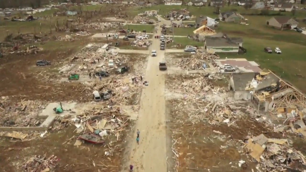 Search For Survivors Not Yet Complete After Deadly Tennessee Tornadoes