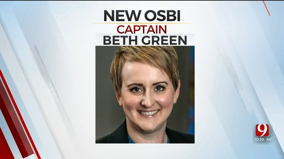 OSBI Promotes Officer To Captain, She Is The Agency's First Female Captain
