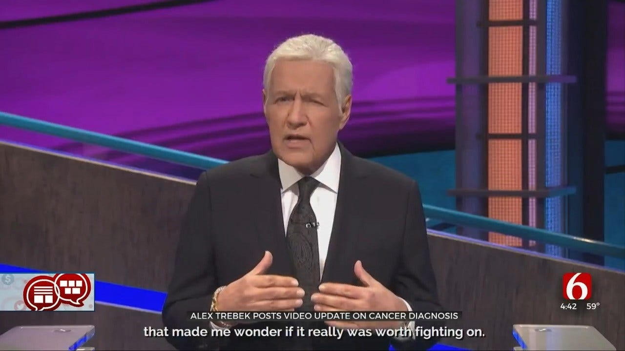 Something To Talk About: Jeopardy's Alex Trebek Updates His Cancer Status