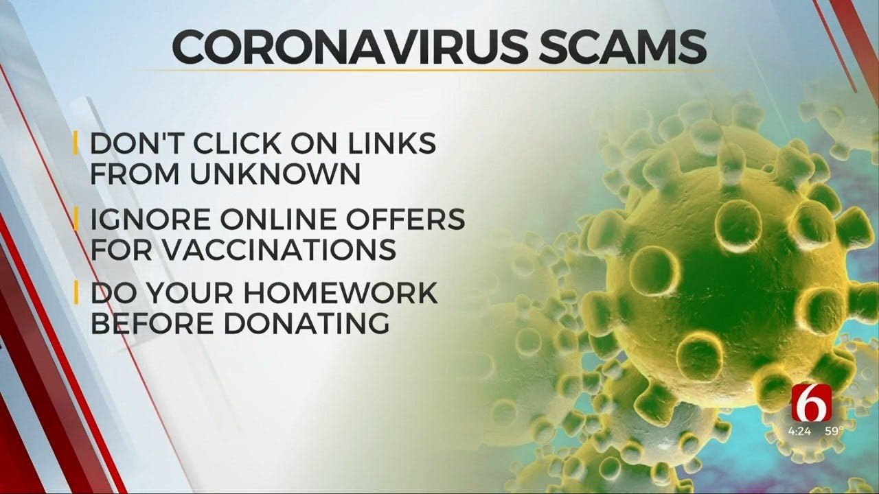 How To Avoid Coronavirus Online Scams