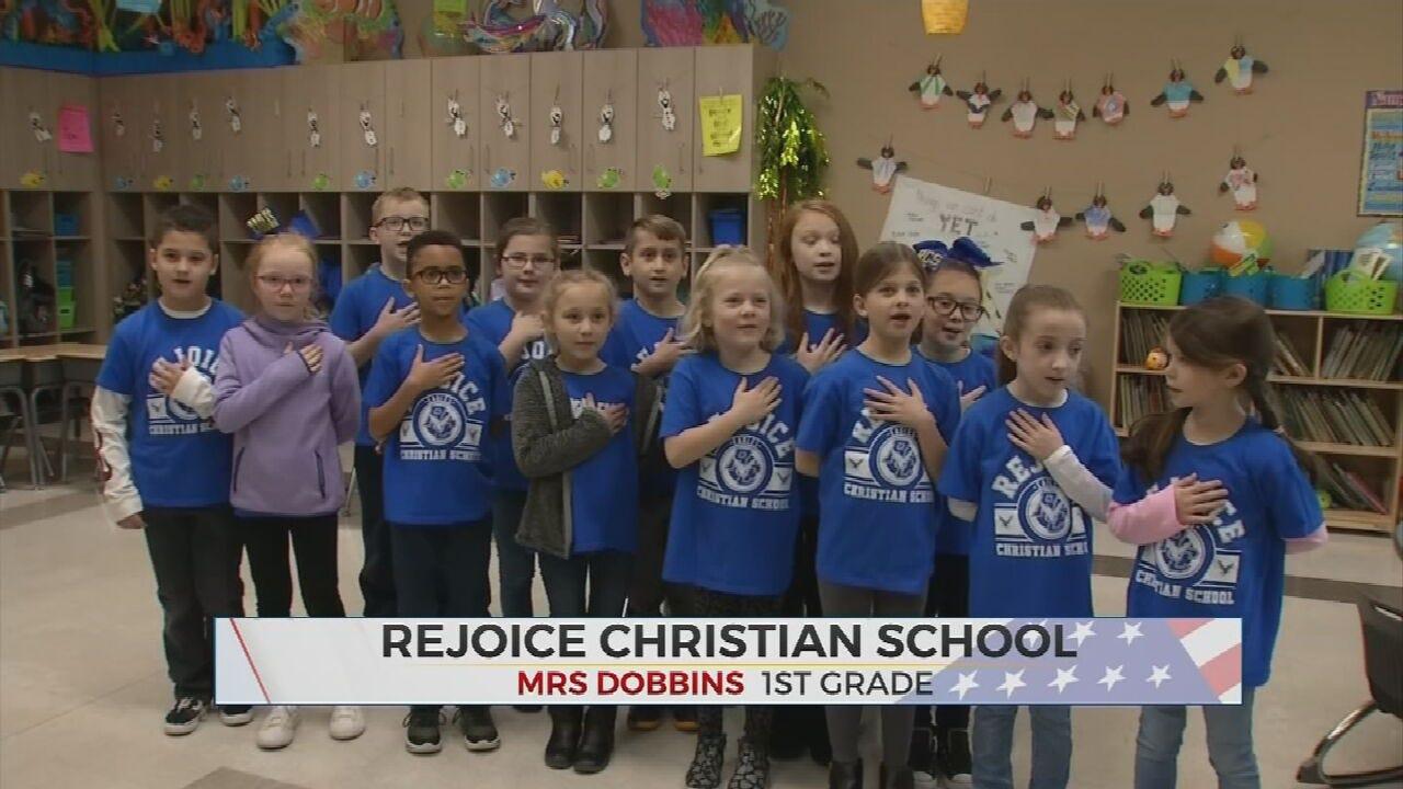 Daily Pledge: Rejoice Christian School