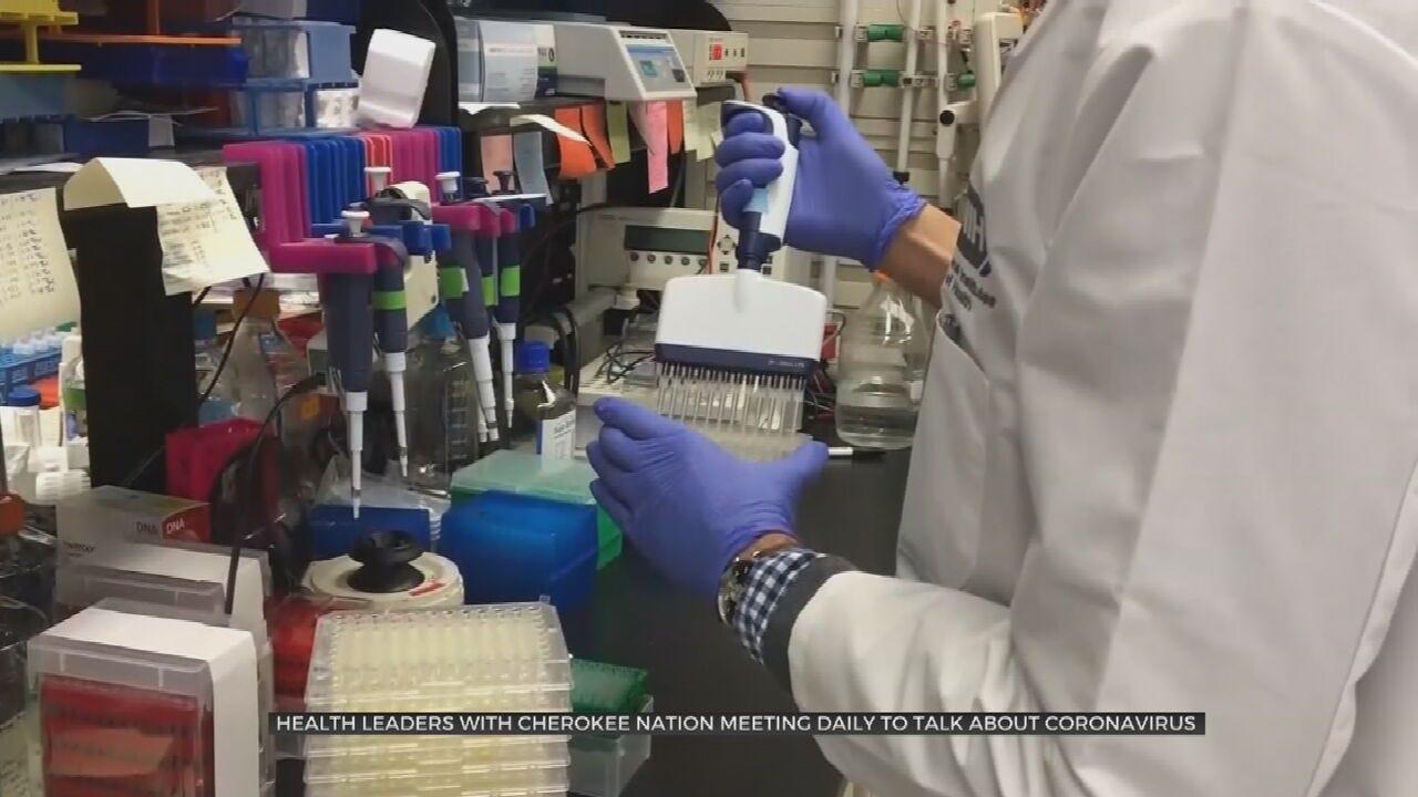 Cherokee Nation Prepares For Coronavirus