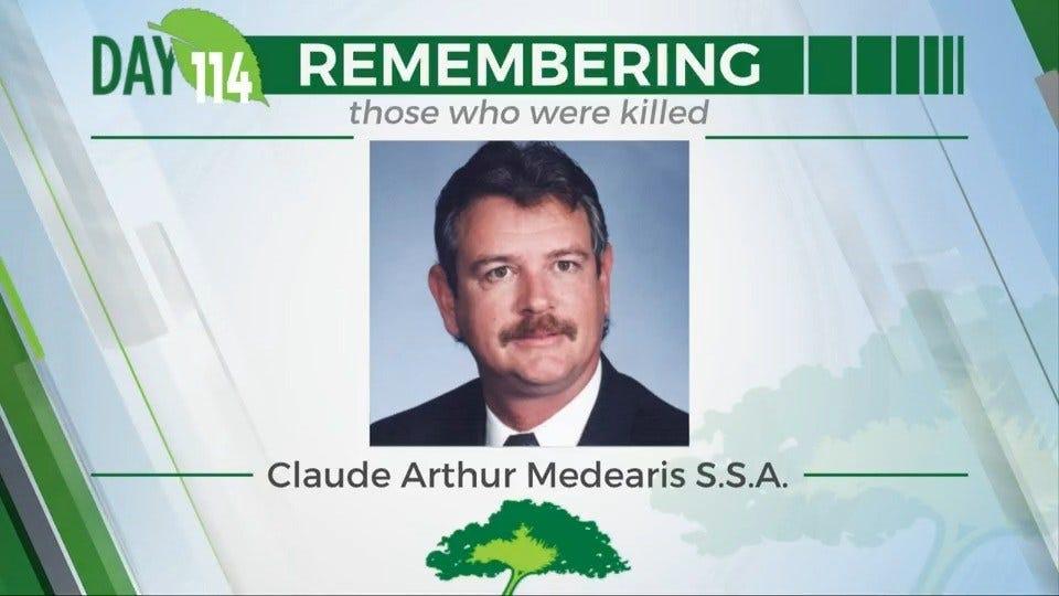 168 Day Campaign: Claude Arthur Medearis S.S.A.