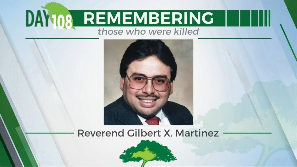 168 Day Campaign: Reverend Gilbert X. Martinez